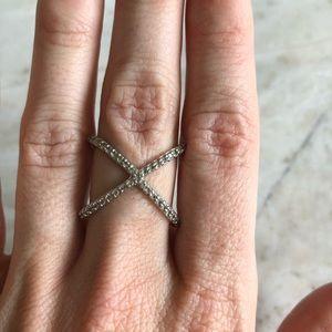 Fashion X Ring